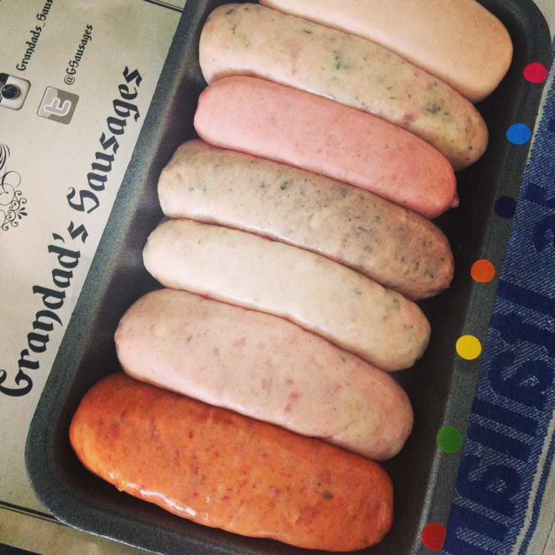 Selection of Grandads Sausages