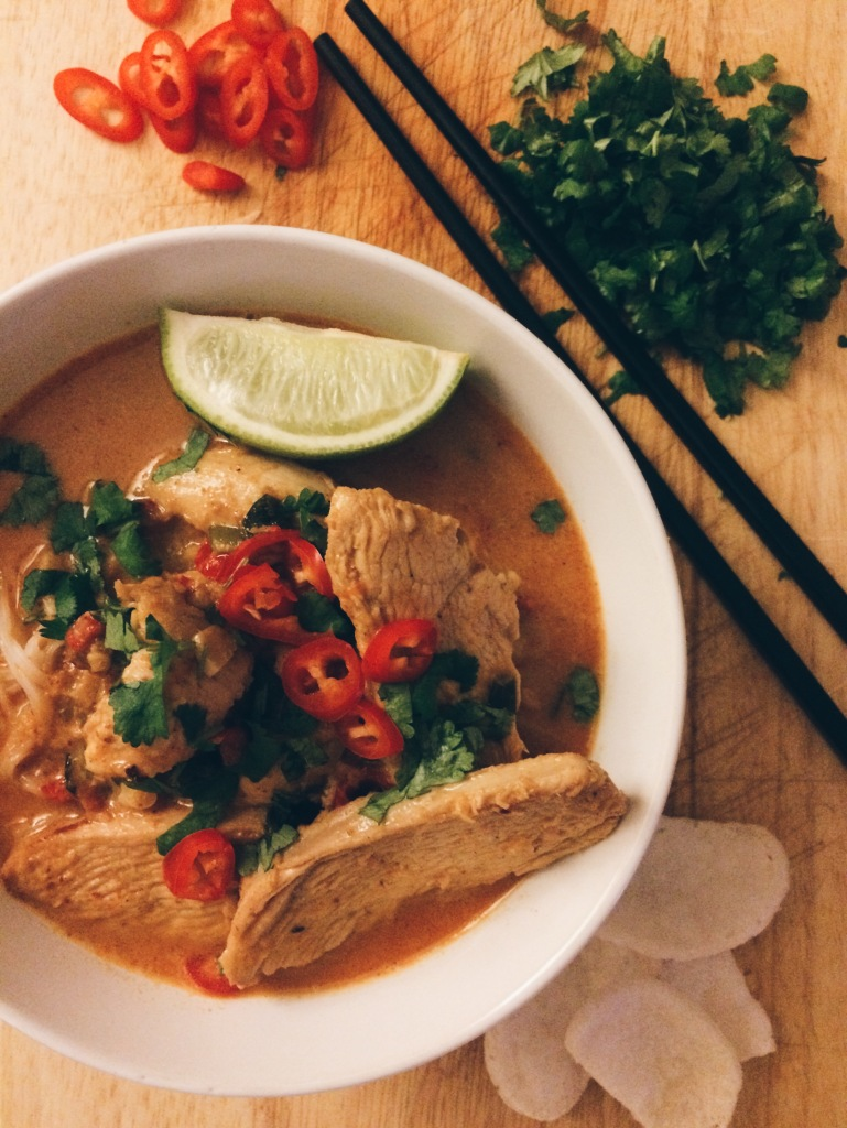 Thai Chicken Noodle Broth
