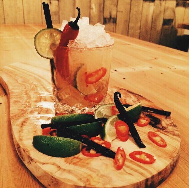 Red Chilli Caipirinha created by Nick from @TheNWTC