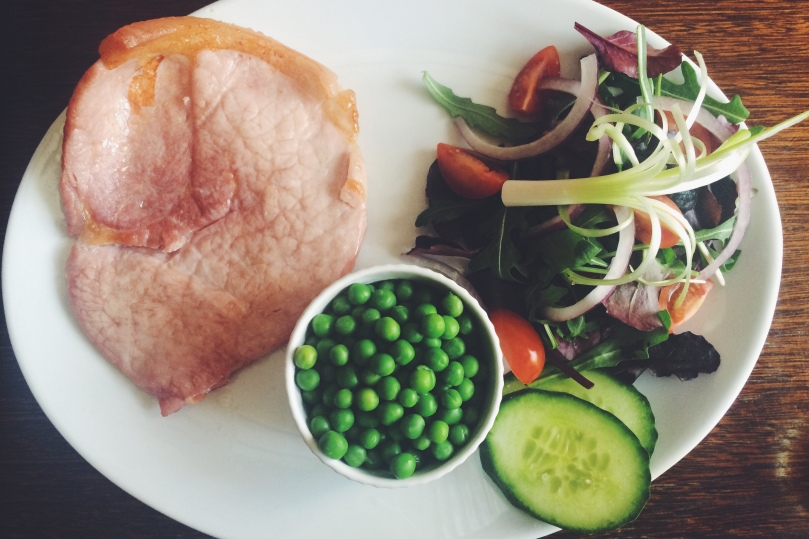 'Light Bite' 5oz Gammon (usually served with a fried egg & homemade chips)