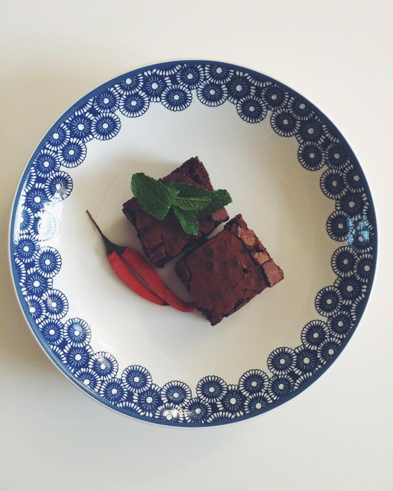 Tabasco Fun with Flavour Challenge, Smoked Chilli and Chocolate Brownies with Tabasco Chipotle