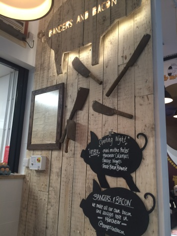 BANGERS & BACON's space at The Kitchens