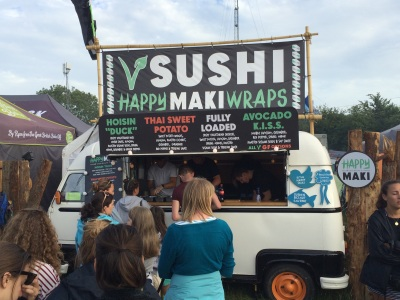 Food at Glastonbury 2015