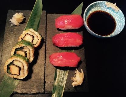 The stunning sushi