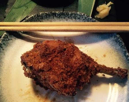 Crispy, succulent fried chicken