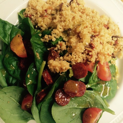 Simple couscous salad