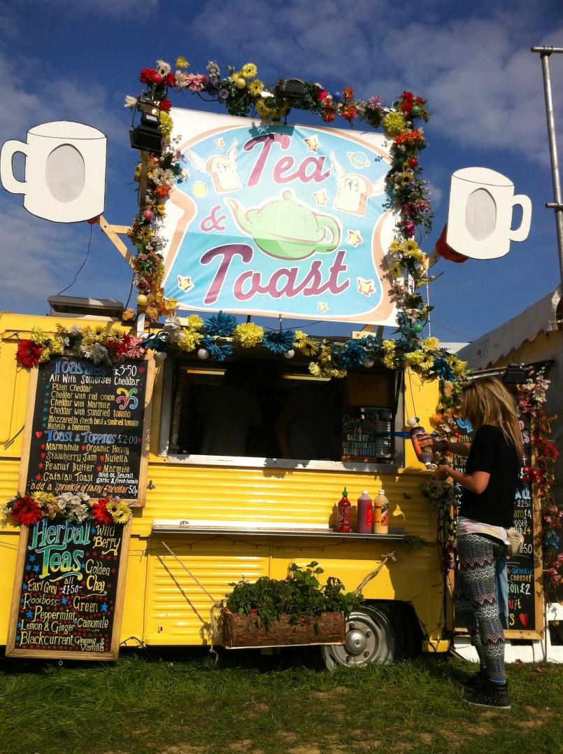 Food at Glastonbury 2015