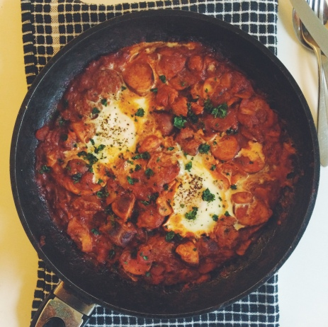 Lean Sausage Shakshuka <3