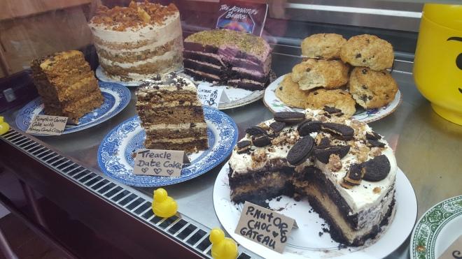 Impressive cake counter!